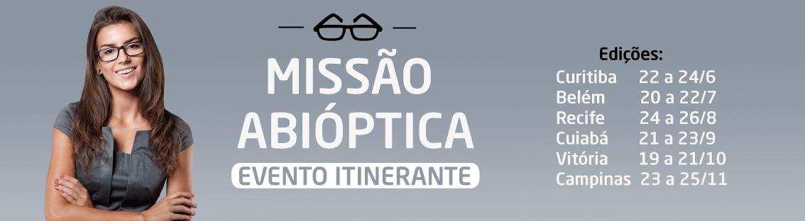 f89572224d317 Missão Abióptica realiza Ação Olho Vivo no Shopping Prado Boulevard neste  final de semana
