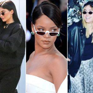 Mini óculos é O Acessório Do Momento Entre As Celebridades; Veja Como Usar