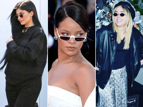 c5b3bd49368ec Mini óculos é o acessório do momento entre as celebridades  veja como usar