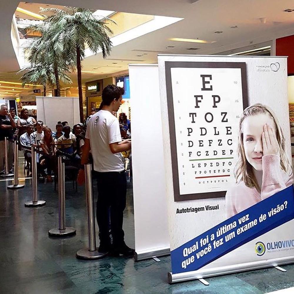 fc1971041d640 Ação promove exame de visão gratuito em Rio Preto - Abióptica