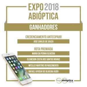 Resultado Rota Premiada – Expo Abióptica 2018