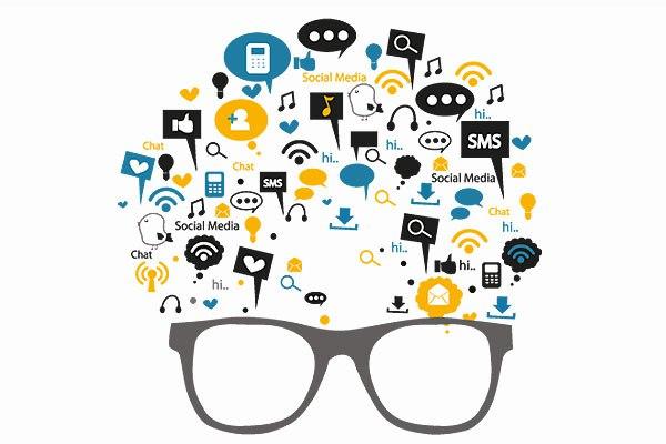 Marketing Digital Oculos Apps Aplicativos Redes Sociais