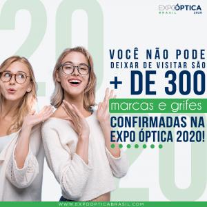 Recorde De Inscrições Na Expo Óptica 20 20 E Muitas Novidades Consolidam O Evento Como A Maior Exposição De óptica Da América Latina.