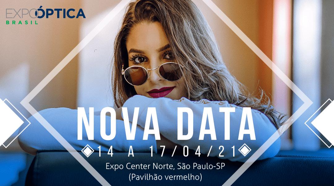 EXPO ÓPTICA 2020 JÁ TEM DATA E LOCAL